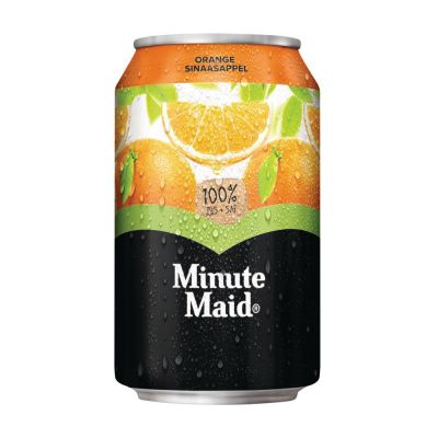 Minute Maid Sinaas blik 33cl