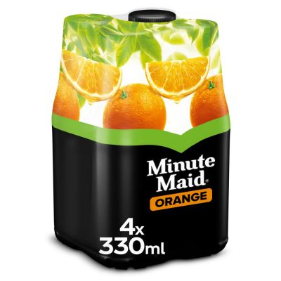 Minute Maid Orange clip 4 x 33cl