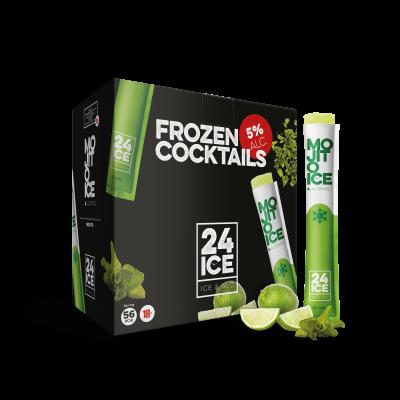 24 ICE Mojito (Frozen Cocktail) 50 x 65ml