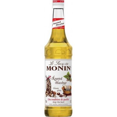 Monin Siroop Roasted Hazelnut fles 70cl