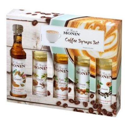 Monin Siroop Coffee Set karton 5x5cl