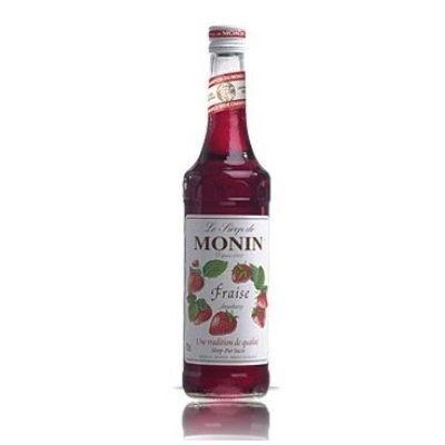 Monin Siroop Aardbei fles 70cl