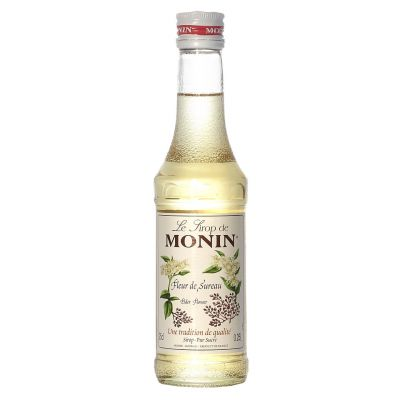 Monin Siroop Vlierbloesem fles 70cl