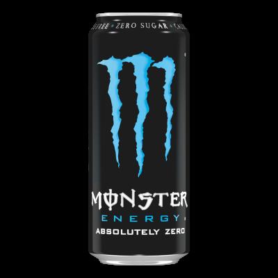Monster Energy Absolutely Zero blik 50cl