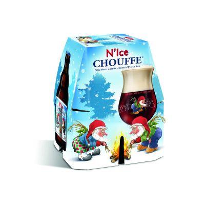 N'Ice Chouffe clip 4 x 33cl
