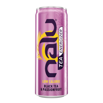 Nalu Black Tea & Passionfruit blik 25cl