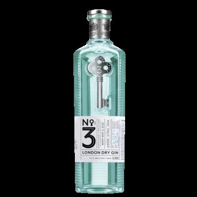 N°3 London Dry gin fles 70cl