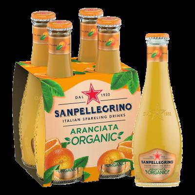 San Pellegrino Aranciata (Bio) clip 4 x 20cl