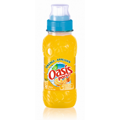 Oasis Pocket Orange pet 25cl