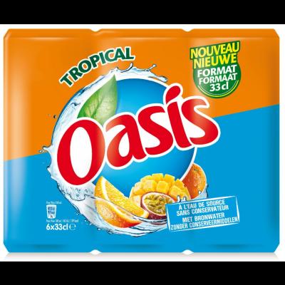 Oasis Tropical blik 6 x 33cl