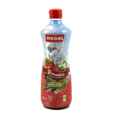 Ordal Siroop Grenadine fles 75cl