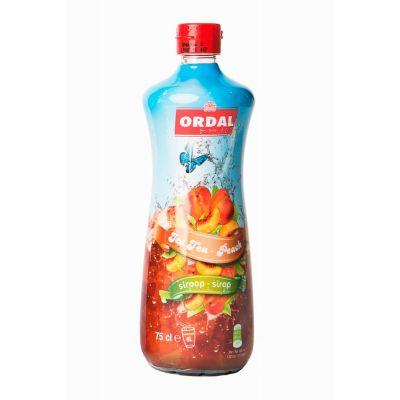 Ordal Siroop Ice Tea Peach fles 75cl