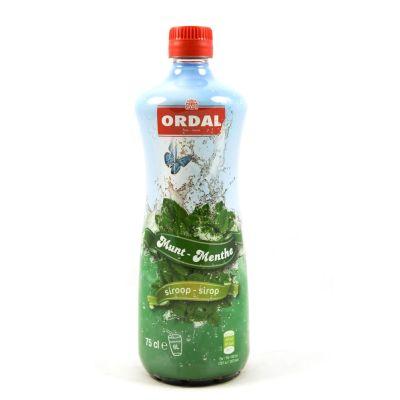 Ordal Siroop Munt fles 75cl
