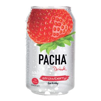 Pacha Strawberry blik 33cl