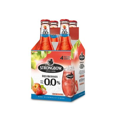 Strongbow Red Berries 0,0% clip 4 x 33cl