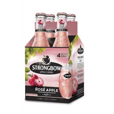 Strongbow Rosé Apple clip 4 x 33cl