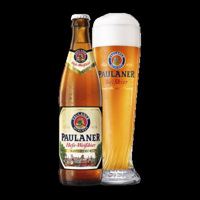Paulaner Naturtrub Hefe-Weissbier fles 50cl