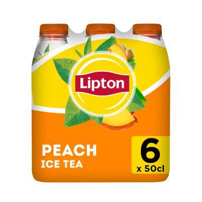 Lipton Ice Tea Peach clip 6 x 50cl