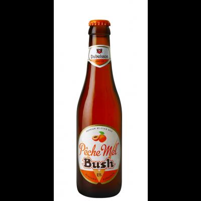 Bush Pêche Mel fles 33cl