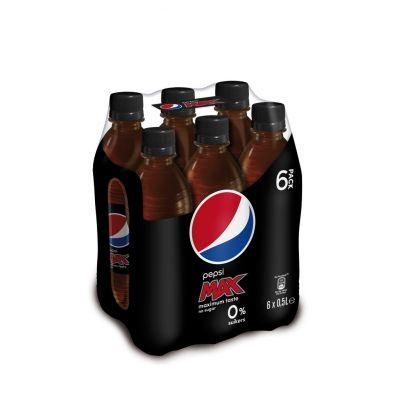 Pepsi Max Carolina clip 6 x 50cl
