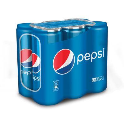 Pepsi Regular blik 6 x 33cl