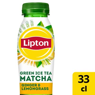 Lipton Ice Tea Green Matcha Ginger & Lemongrass pet 33cl