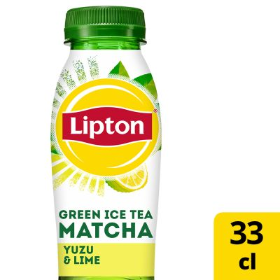 Lipton Ice Tea Green Matcha Yuzu & Lime pet 33cl