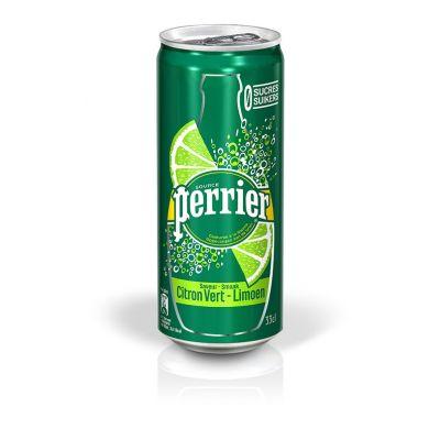 Perrier Limoen blik 33cl