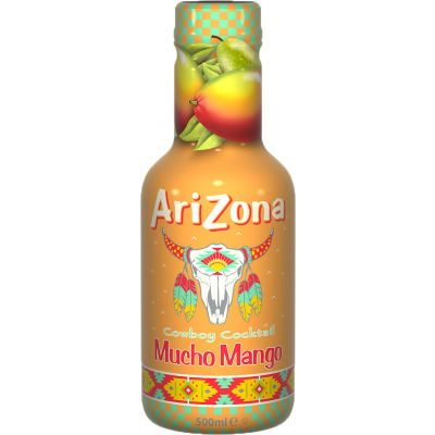AriZona Mucho Mango Juice fles 50cl