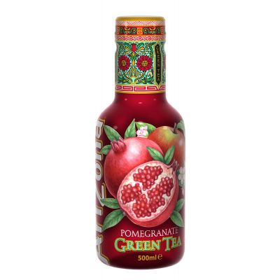 AriZona Pomegranate Green Tea fles 50cl