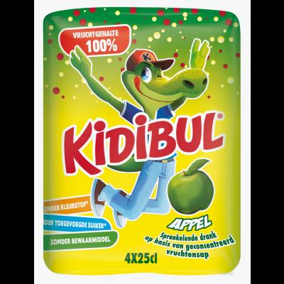 Kidibul Appel 4 x 25cl