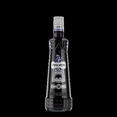 Puschkin Black Berries fles 70cl