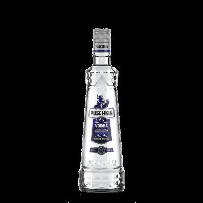 Puschkin vodka fles 70cl
