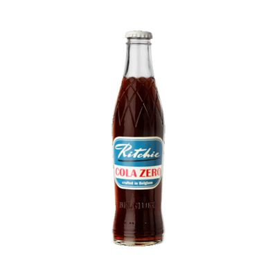 Ritchie Cola Zero fles 27,5cl