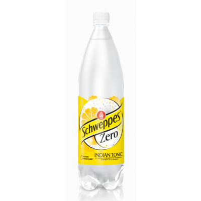 Schweppes Indian Tonic Zero pet 1,5l