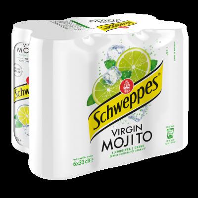 Schweppes Mojito blik 6 x 33cl