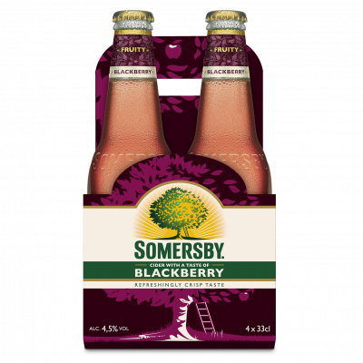 Somersby Blackberry Cider clip 4 x 33cl