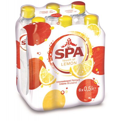 Spa Touch Of Lemon clip 6 x 50cl