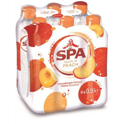 Spa Touch Of Peach clip 6 x 50cl