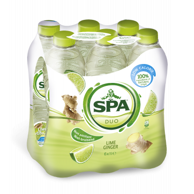 Spa Duo Lime-Ginger pet 6 x 1l