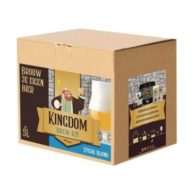 Kingdom Beer Brew Kit Sterk Blond