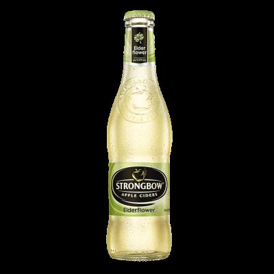 Strongbow Elderflower fles 33cl