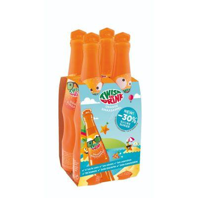 Twist And Drink Sinaasappel 4 x 20cl