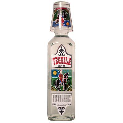 Tequila Pistoleros  Silver fles 70cl