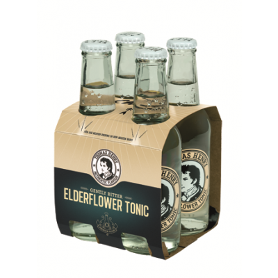Thomas Henry Elderflower 4 x 20cl
