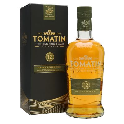 Tomatin 12Y fles 70cl
