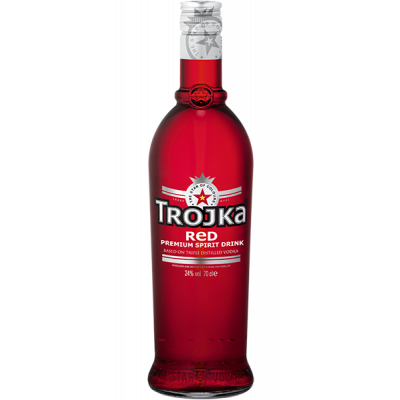 Vodka Trojka Red fles 70cl
