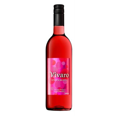 Vivaro Strawberry fles 75cl