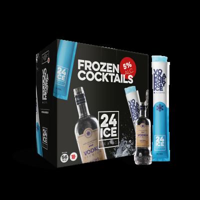 24 ICE Vodka Energy (Frozen Cocktail) 50 x 65ml