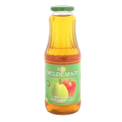 Weldenhof Bio Appel/Peer fles 1l